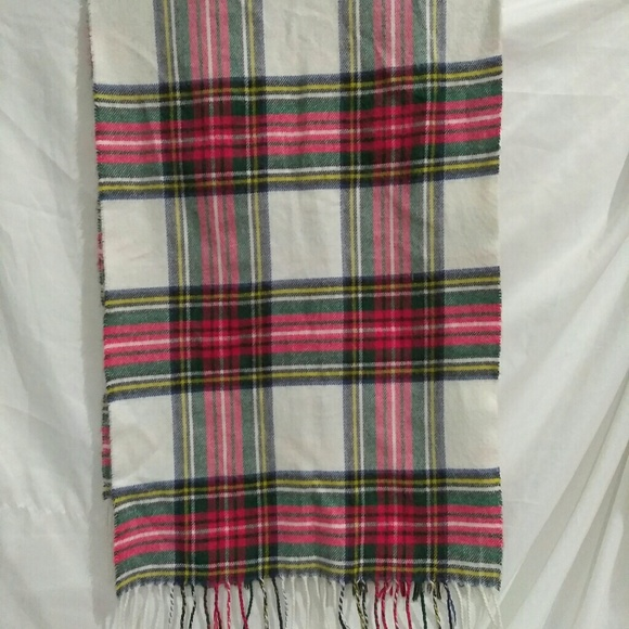 Dior Other - Christian Dior Men's Plaid Cashmaire Scarf